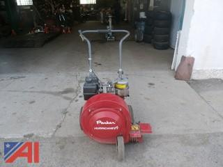 1997 Parker Hurricane Plus 8 Walk Behind Blower