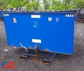Forklift Dumpster