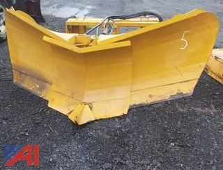 8ft Skid Steer V-Plow Attachment