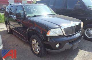 2003 Lincoln Aviator SUV