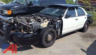 2009 Ford Crown Victoria 4 Door/ Police Interceptor