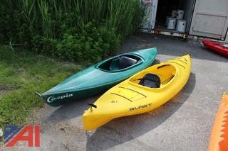 Caspia & Blast Kayaks