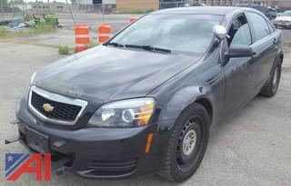 2013 Chevrolet Caprice 4DSD/Police Vehicle