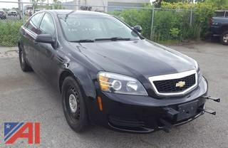 2012 Chevrolet Caprice 4DSD/Police Vehicle