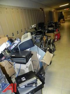 (100+) Lot of Computers, Laptops, Printers, Phones and More Electronics