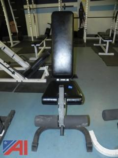 Adjustable Leg Curl Bench #7