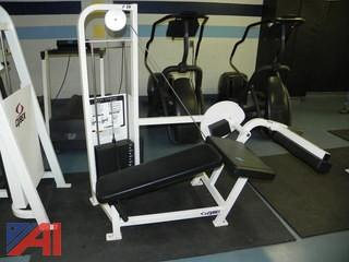 Cybex Leg Curl Machine #13