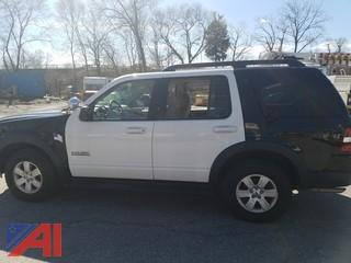 2007 Ford Explorer SUV/Police Vehicle