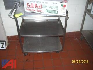 Rolling Tables and Cart