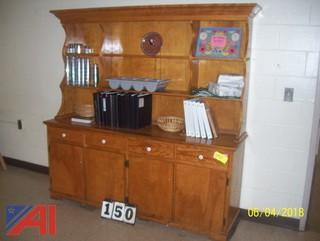 Hutch, Tables and Chairs
