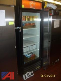 True Glass Door Refrigerator