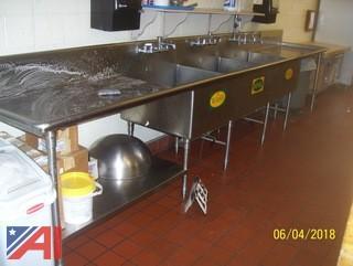 3 Pot Sink