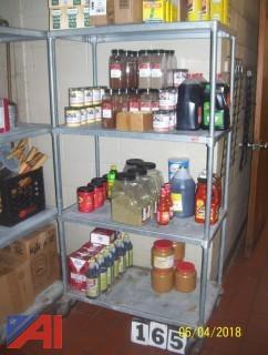 (2) Shelf Units