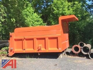 10' Rugby Dump Box w/ Coal Chutes