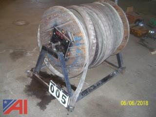 "Reel with 3"" Hose"