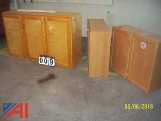 (3) Cabinets