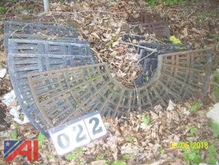 Cast Iron Tree Grates **Lot Updated**