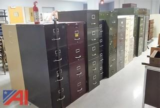 Assorted Filing Cabinets & More