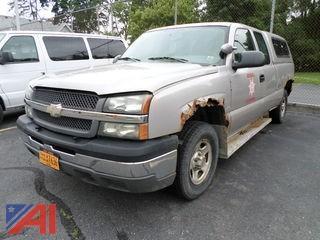 2004 Chevrolet Silverado 1500 Pickup Truck w/Ext Cab