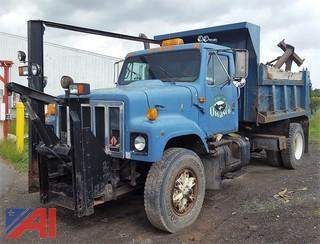 1991 International 2574 Dump Truck & Plow