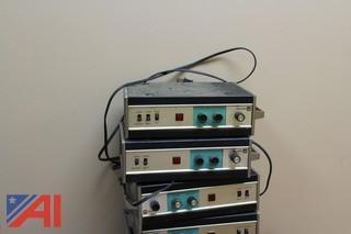 (5) Plectron Alerting Radios