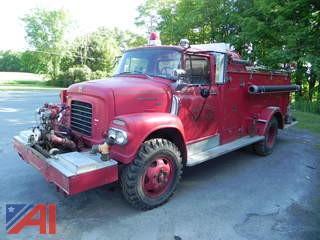 1960's International BC176 Series Fire Pumper Truck