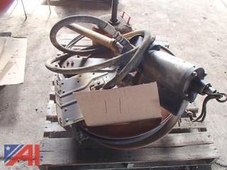 Hydraulic Hose Reel, Oil Drain Pan, Hydraulic Valve Controls