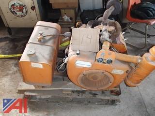 Wisconsin V4 Gas Engine