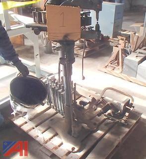 Brake Reamers, Disc Brake Rivet Machine