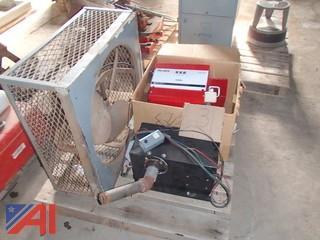 Fan, Fuel Pump, 12 Volt Propane Heaters