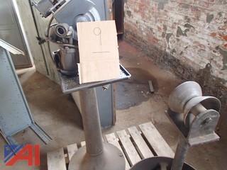 Drill Bit Sharpener, Pipe Stand