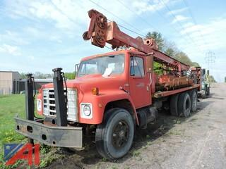 1980 International F1954 Drill Rig Truck