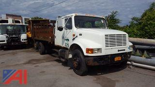 2002 International 4700 Stake Rack Truck