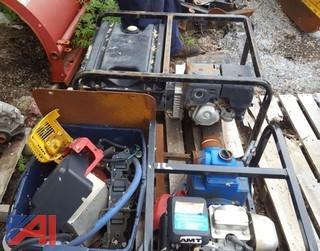 Generator & Sewage Pump