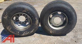 (2) Truck Tractor Tires