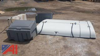 8 foot Utility Cap w/ Tank and Boxes