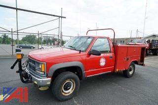 1996 Chevy Cheyenne 3500 Utility Truck