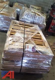 (9) Pallets of Book Shelves