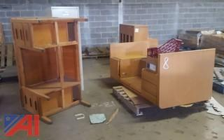Upright Piano & Office Furniture