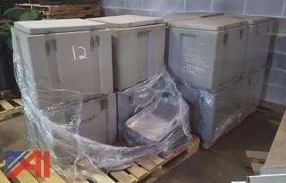(12) Thermo Safe Hot Food Boxes
