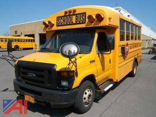 2009 Ford E450 School Bus with Wheelchair Lift