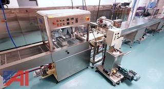 TKT-400 Chocolate Enrobing/Cooling/Decorating Line