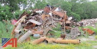Steel Scrap Pile