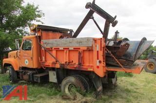 1988 International 2574 Dump Truck with Plow