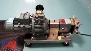 (3) S/S Rotary Lobe Double Vane Pumps