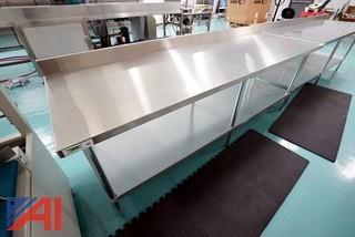 Regency 8'304 S/S Commercial Work Table