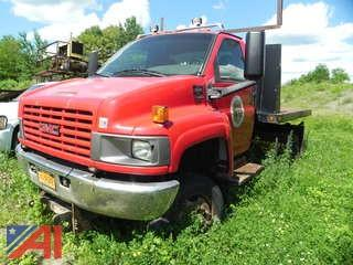 *UPDATED* 2006 GMC C5C042 Flatbed Truck