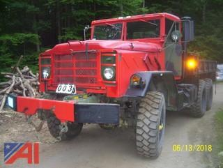 **Lot Updated** 1991 BMY Harsco 6X6 Cargo Truck