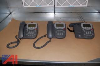 (3) Avaya Phones