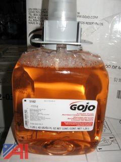 (158) GOJO Hand Soap Bottles